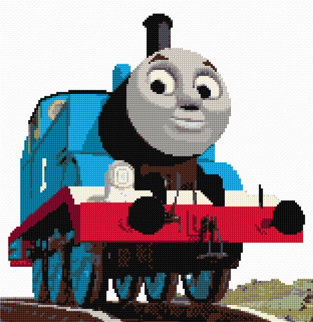 Thomas the Tank Engine Counted Cross Stitch Kit