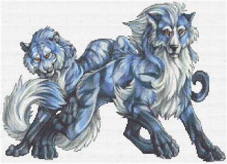 Beasts Counted Cross Stitch Kit