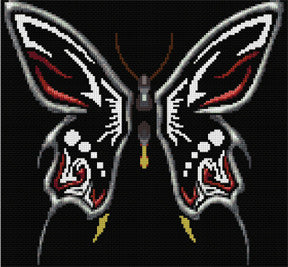 Butterfly Counted Cross Stitch Kit