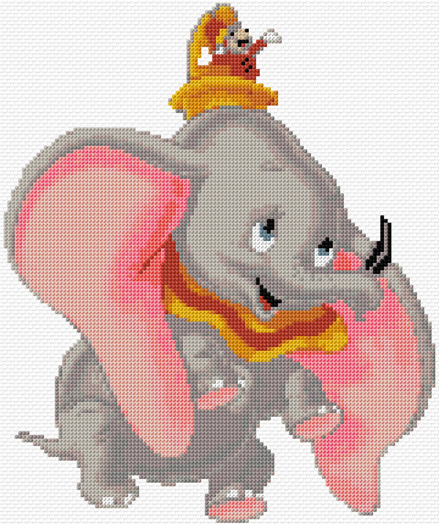 Dumbo Counted Cross Stitch Kit TV/Film