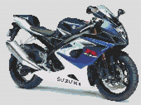 Suzuki GSXR 1000 K5 Counted Cross Stitch Kit