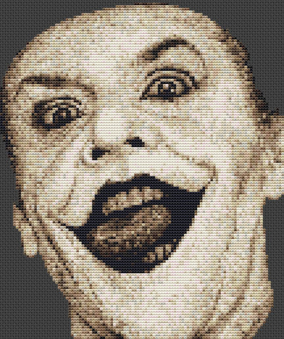 Batman-The Joker Counted Cross Stitch Kit