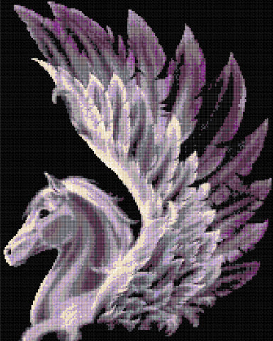 Pegasus Counted Cross Stitch Kit