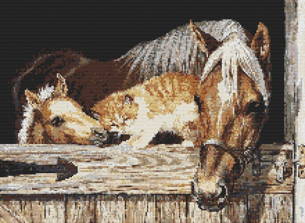 Stable Mates Counted Cross Stitch Kit Horses/Wildlife