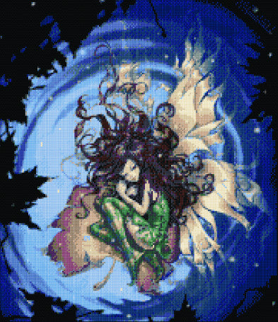 Water Fairy Counted Cross Stitch Kit