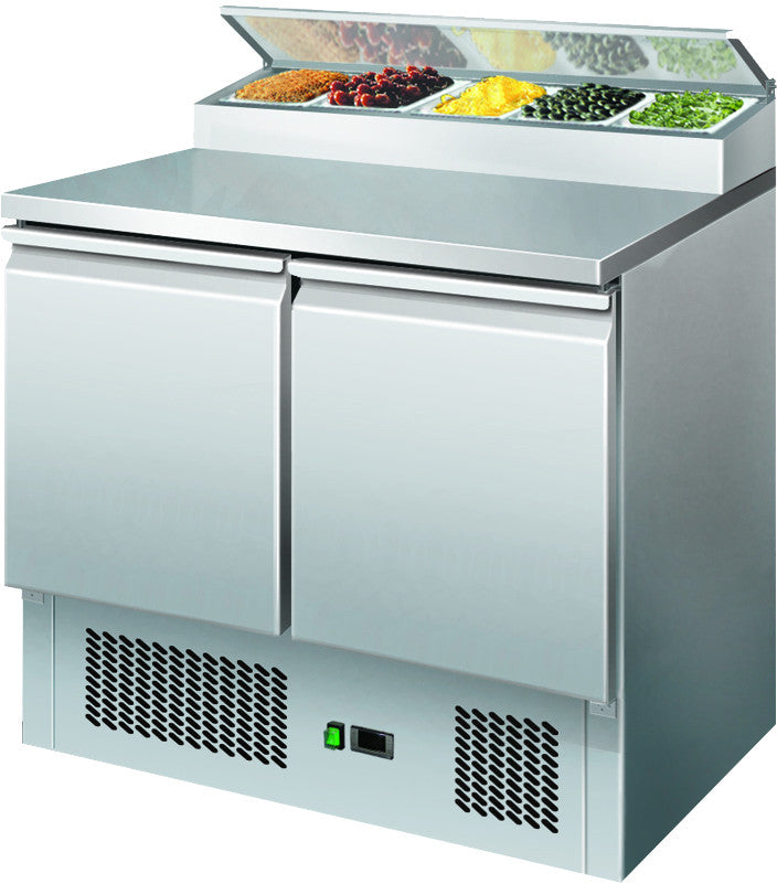 Economy Saladette Counters - Academy Refrigeration & Air Conditioning