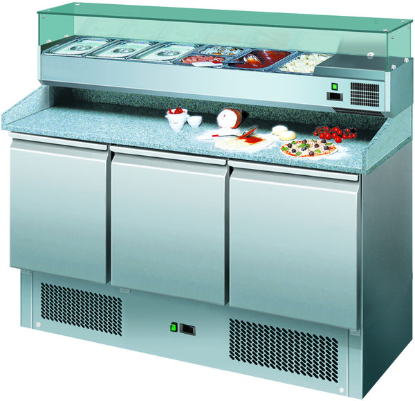 Economy Pizza Counter - Academy Refrigeration & Air Conditioning