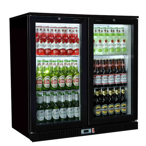Sterling Pro Double Door Bottle Coolers - Academy Refrigeration & Air Conditioning