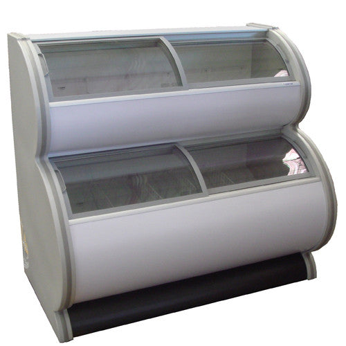 Elcold Two-Tier Display Freezer