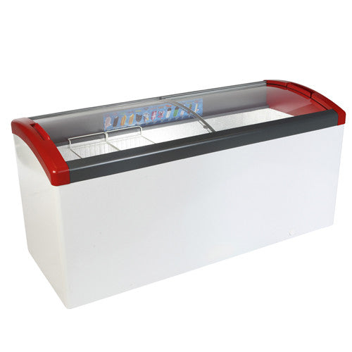Elcold Focus Glass Lid Chest Freezers
