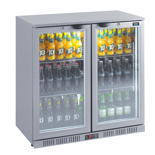 LEC Double Door Bottle Coolers - Academy Refrigeration & Air Conditioning
