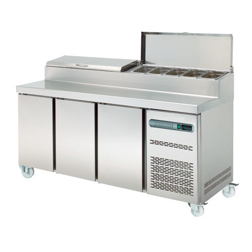 Sterling Pro Pizza Prep Counters - Academy Refrigeration & Air Conditioning