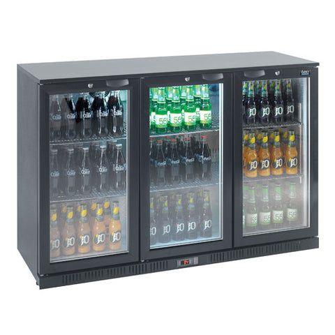 LEC Triple Door Bottle Cooler - Academy Refrigeration & Air Conditioning