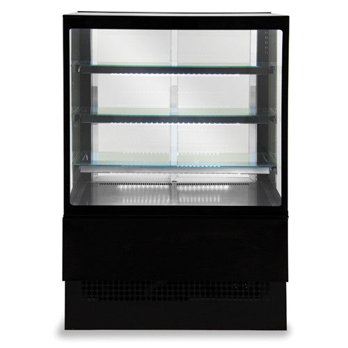 Sterling Pro Patisserie Counter 'EVO-K' Square Glass - Academy Refrigeration & Air Conditioning