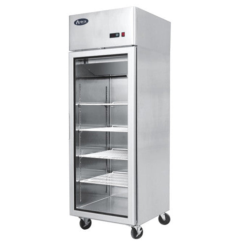 Economy 450 Litre Glass Door Cabinet - Academy Refrigeration & Air Conditioning