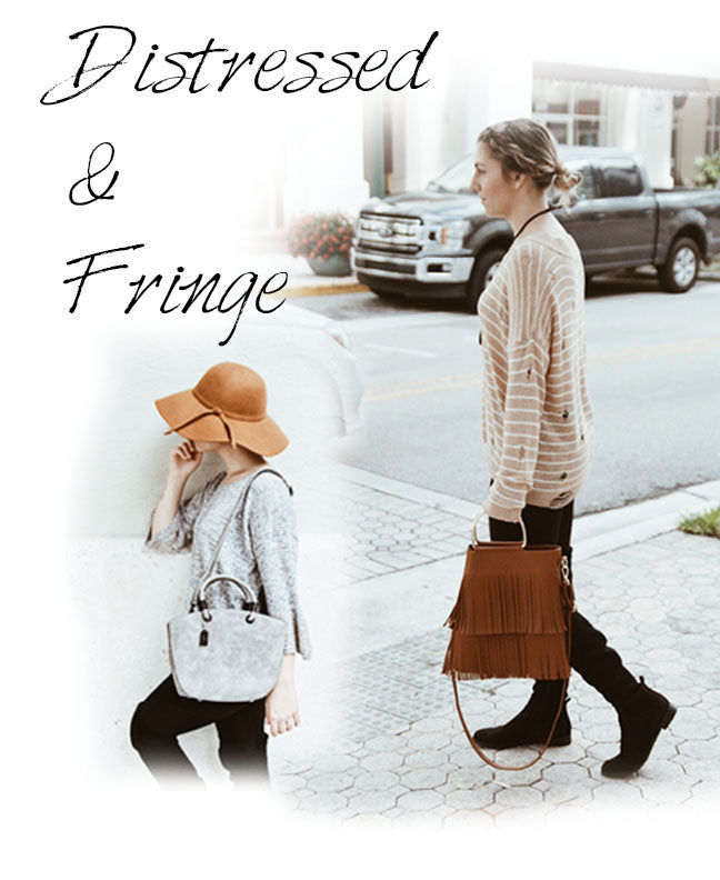 Distressed & Fringe