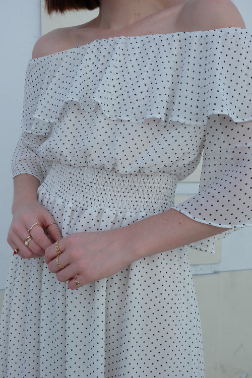 Polka Dot Dress #1967