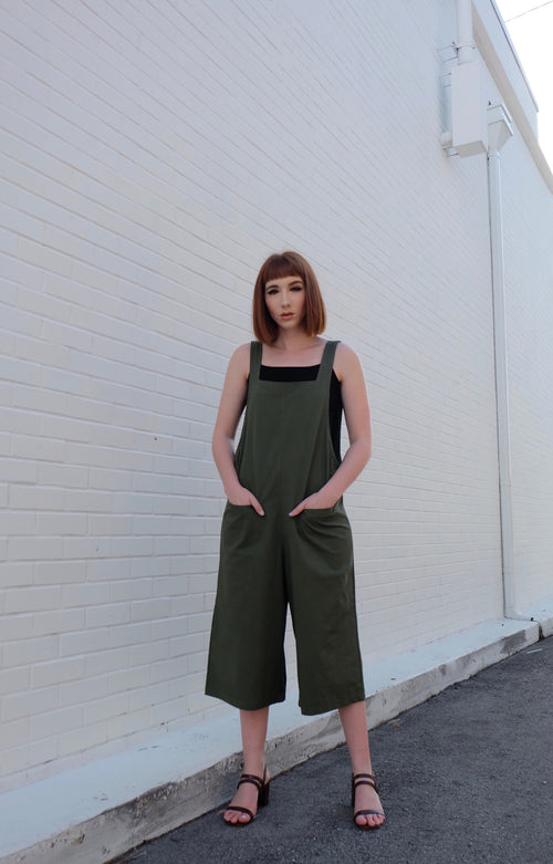 Green Jumpsuit #7890