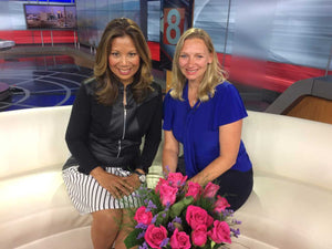 As Seen on WTNH Channel 8 - Roses for Autism Opens Our Sensory Garden