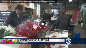 Roses for Autism Featured on WFSB Channel 3 in time for Valentine's Day