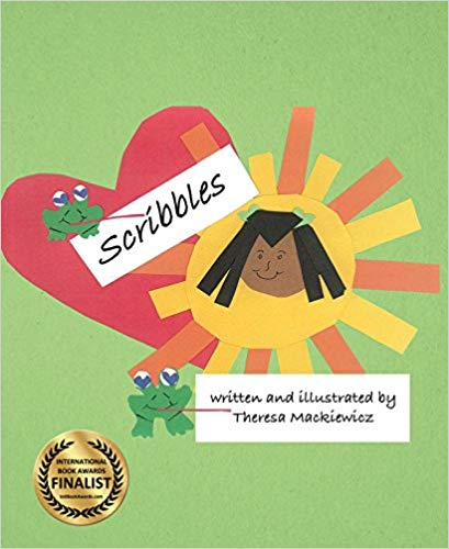 Scribbles - Hardcover Book Shipping Included!