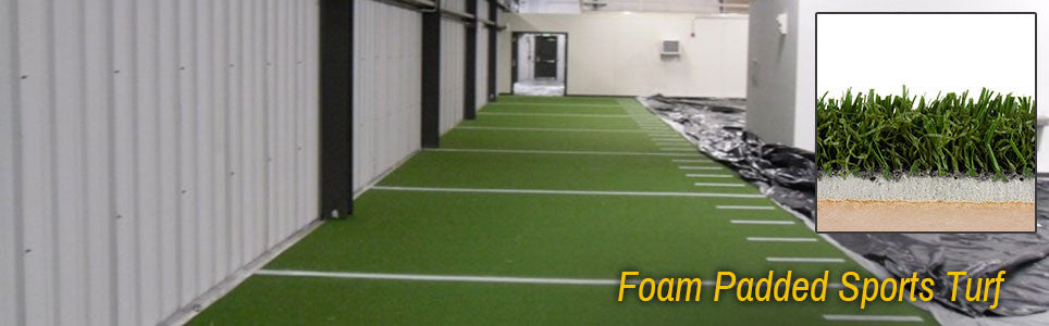 Foam Padded Sports Turf