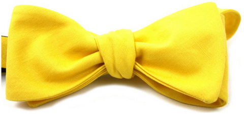 Ella Bing Yellow Bow Tie