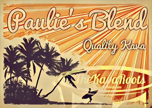 Paulie's Blend - Quality Kava - The Kava Roots Traditional Noble Kava - Kava TheKavaRoots.com - thekavaroots.com The Kava Roots - thekavaroots