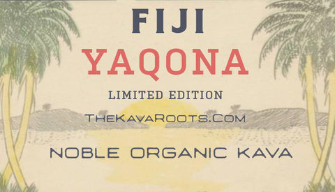 FIJI Yaqona Limited Edition Kava - The Kava Roots Fiji Yaqona Kava - Kava The Kava Roots - thekavaroots.com The Kava Roots - thekavaroots