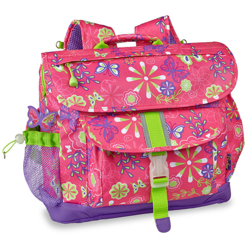 "Bixbee ""Butterfly Garden"" Kids Backpack - Medium Size - Pink Colour - CoolGoodz"