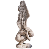 Design Toscano Remembrance and Redemption Angel Sculpture - Medium