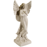 Sculptural Gardens 23-Inch Guardian Angel Statuary (Color May Vary)