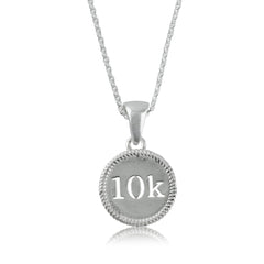 10K Silver Necklace