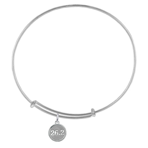 26.2 Silver Adjustable Bracelet