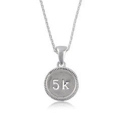 5K Silver Necklace