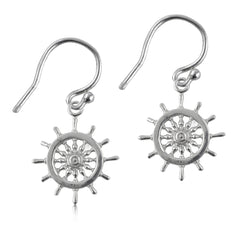 Helm Silver Earrings