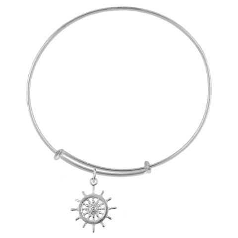 Helm Silver Adjustable Bracelet