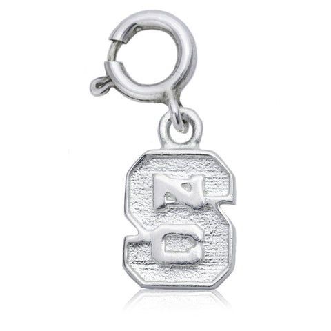 NCAA NC State Wolfpack Block S Silver Charm