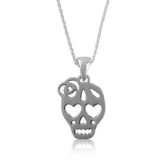Skull Silver Necklace