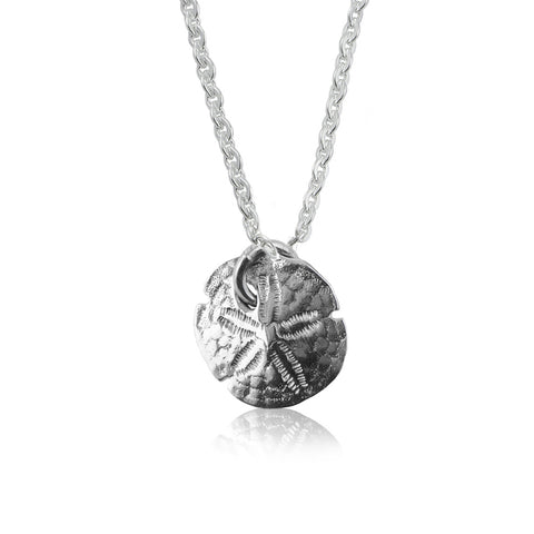 Sanddollar Silver Necklace