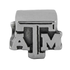 NCAA Texas A&M Aggies 3D Logo Charm Bead