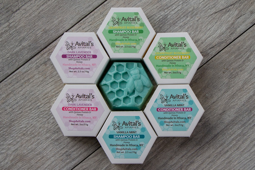 Avital's Shampoo Bar and Conditioner Bar