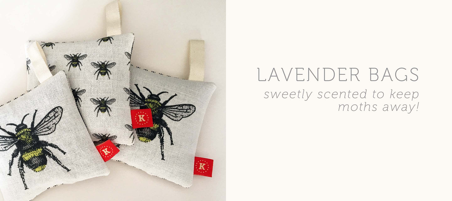 lavender bags sweetly scented to keep moths away