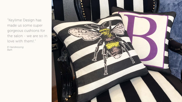 bespoke cushion design