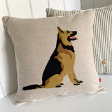 alsatian feature cushion