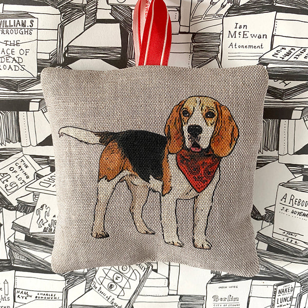 beagle lavender bag