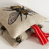 Bee motif lavender bag