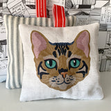 bengal cat lavender bag