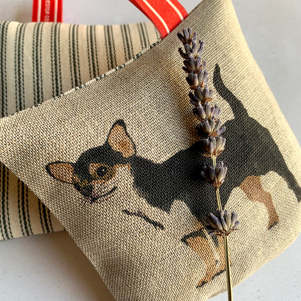Chihuahua lavender bag - 2 different designs