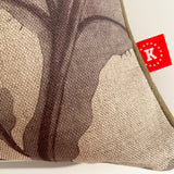 porcupine fish cushion cover detail